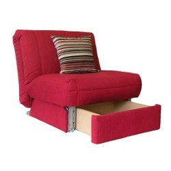 Leila Deluxe Chair bed + Storage  sc 1 st  Sofabed Barn & Single Chair Beds | Unique Designs | Factory Direct | Sofabed Barn ...