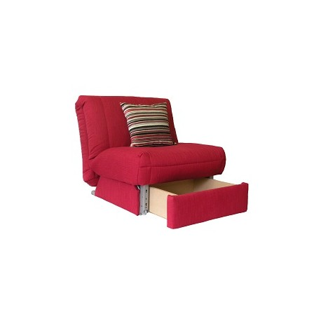 Leila Deluxe Chair bed + Storage