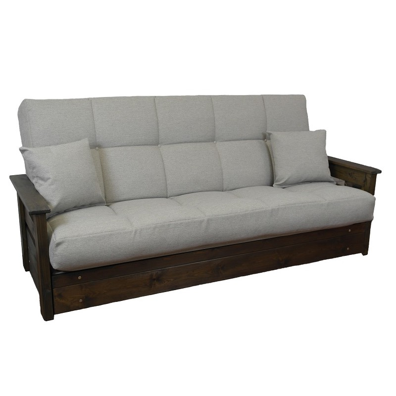 Boston futon sofa bed 3 seat click clack buy direct sofabed barn Bed divan