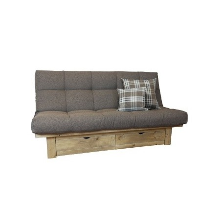 Belvedere Futon Sofa Bed Storage Drawer Shop sofabedbarncouk
