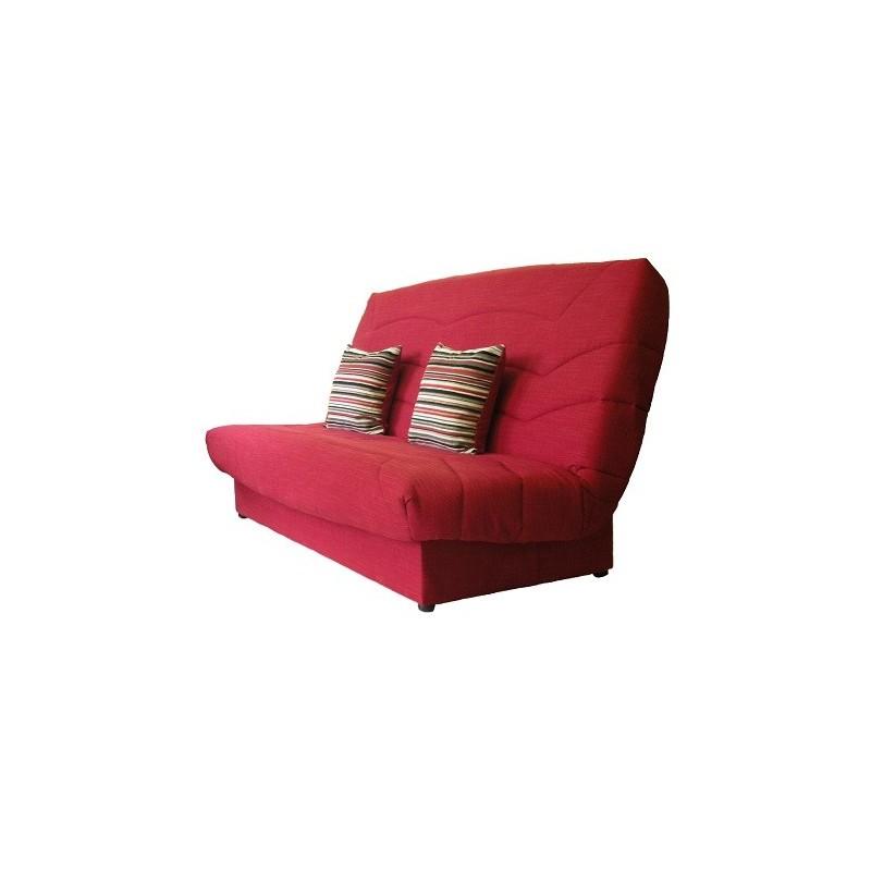 Clic clak meublesline clicclac bicolore matt noir et for Domo matelas